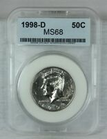 1998 D 50C KENNEDY HALF DOLLAR MINT STATE UNCIRCULATED FROM A US MINT SET