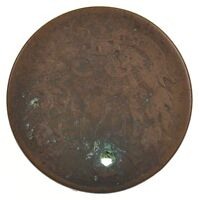 1865 TWO-CENT PIECE HOLE /J3400