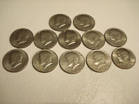 A LOT OF 12 BICENTENNIAL KENNEDY HALF DOLLARS 1776 1976