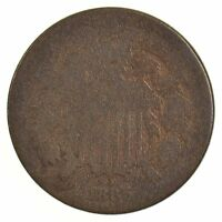 1865 TWO-CENT PIECE /J3403