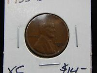 1933 D XF LINCOLN WHEAT CENT CIRCULATED   NICE DETAILS   GOOD COIN