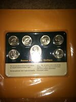 SET OF  SUSAN B. ANTHONY DOLLARS   6 COINS 1979 AND 1980