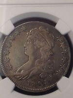 1808 CAPPED BUST HALF DOLLAR NGC VF 35 O 104 CHERRY PICKER VARIETY