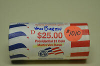 2008-D MARTIN VAN BUREN PRESIDENTIAL DOLLAR US MINT  ROLL     ITEM  1010
