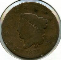 1829 CORONET HEAD LARGE CENT PENNY   L1C AE787