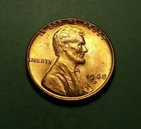 1948 D LINCOLN WHEAT PENNY UNCIRCULATED W14982