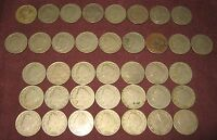 [38] LIBERTY 'V' NICKELS DATED 1908-1911 LOT