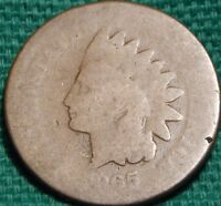 1865 INDIAN HEAD CENT BRONZE COMPOSITE CIRCULATED CIRCULATION STRIKE PHILADELPHIA