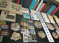 US AND WORLDWIDE STAMP COLLECTION ESTATE FIND COVERS FDCS MINT  650  STAMPS