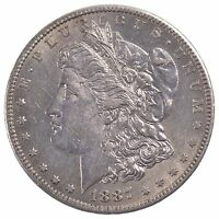 1887-S MORGAN SILVER DOLLAR Z81