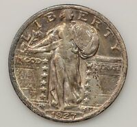 1927 STANDING LIBERTY QUARTER DOLLAR G64