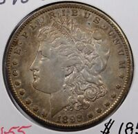 1898 S $1 MORGAN SILVER DOLLAR ABOUT UNCIRCULATED 154097