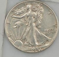 1941 D LIBERTY WALKING HALF DOLLAR Z91