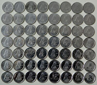 1968 2019 CANADA COLLECTION OF 55 X 10 DIMES   ALL YEARS VARIETIES NO DOUBLES