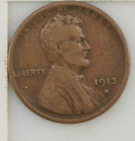 1913-S LINCOLN WHEAT EARS CENT Z94