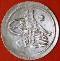 TURKEY OTTOMAN EMPIRE. MAHMUD I . 1143 AH   1730 AD. SILVER COIN .