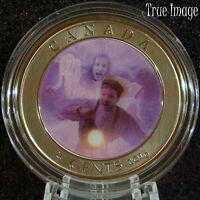 2016 HAUNTED CANADA 3 GHOST OF BELL ISLAND HAG 25 CENT LENTICULAR QUARTER COIN