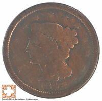 1846 BRAIDED HAIR LARGE CENT XB12