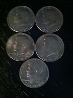 KENNEDY HALF DOLLARS.  1776 COINS. LOT OF 5