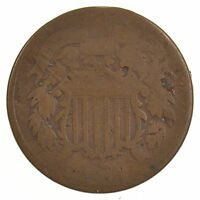 1866 TWO-CENT PIECE J76