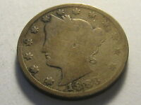 1883 WITH CENTS NICKEL GOOD ROUGH SURFACE