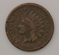 1865 INDIAN HEAD ONE CENT G19