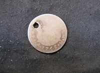 1749 MEXICO 2 REALES SILVER COIN HOLED