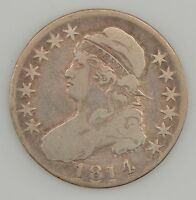 1814 CAPPED BUST HALF DOLLAR Z07