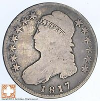 1817 CAPPED BUSTED HALF DOLLAR XB71