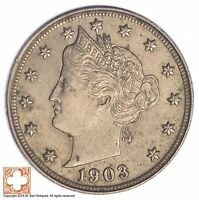1903 LIBERTY V NICKEL XB88