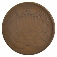 1866 TWO-CENT PIECE J75