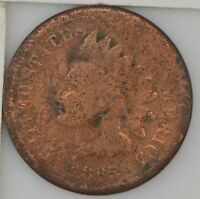 1865 INDIAN HEAD ONE CENT 827