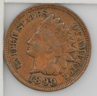 1899 INDIAN HEAD ONE CENT Z93