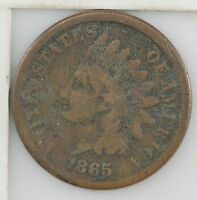 1865 INDIAN HEAD ONE CENT Z57