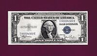 FR. 1616  FANCY SERIAL NUMBERS C 62022922 J  1935 G  $1  SILVER CERTIFICATE COIN