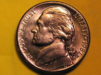 1987 P  JEFFERSON 5 CENT   UNCIRCULATED