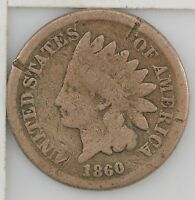 1860 INDIAN HEAD ONE CENT 488