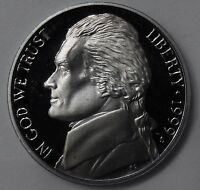 1999 GEM PROOF PF JEFFERSON NICKEL 5 CENTS 5C UNC UNCIRCULATED US COIN FREE SHIP