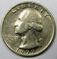 C006 27 TO 28  UNITED STATES | WASHINGTON QUARTER 1/4 DOLLAR 1977 VF