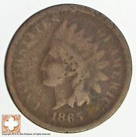 1865 INDIAN HEAD CENT - CIVIL WAR ERA 4785