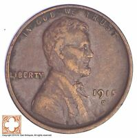 1915 D LINCOLN WHEAT CENT YB91