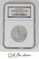 1861 O SEATED LIBERTY HALF DOLLAR SILVER/SS REPUBLIC/ NGC SHIPWRECK C UNC XC95