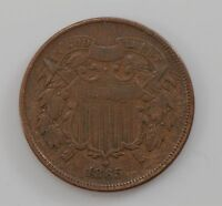 1865 TWO CENT PIECE Q92