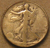 1940-S WALKING LIBERTY SILVER HALF DOLLAR,  GOOD  SHIPS FREE