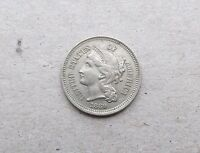 1869 THREE CENT  NICKEL  1869 3 CENT NICKEL   VILLAGE COIN BULLION  1/20/1 ALL