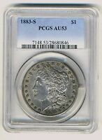 1883 S  PCGS AU53  MORGAN  DOLLAR