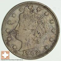 1902 LIBERTY V NICKEL 0858