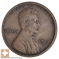1913-S LINCOLN WHEAT CENT 2665