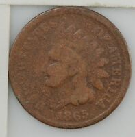 1865 INDIAN HEAD ONE CENT Z02