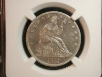 1857 O NEW ORLEANS SEATED LIBERTY HALF DOLLAR 50C NGC CERTIFIED VF 30